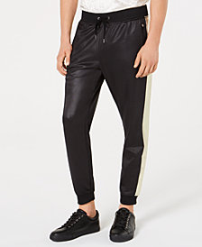 I.N.C. Men's Metallic Sparkle Jogger Pants, Created for Macy's