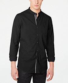 I.N.C. Men's Stretch Seersucker Shirt, Created for Macy's