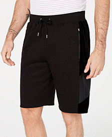 I.N.C. Velour Panel Shorts, Created for Macy's