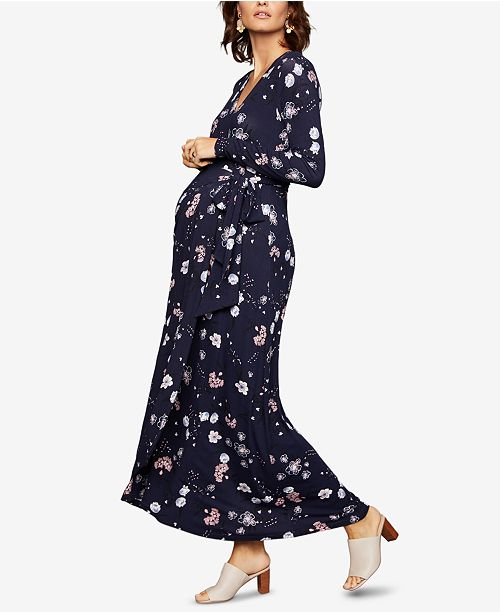 cf02025281ebb A Pea in the Pod Maternity Printed Maxi Dress & Reviews - Maternity ...