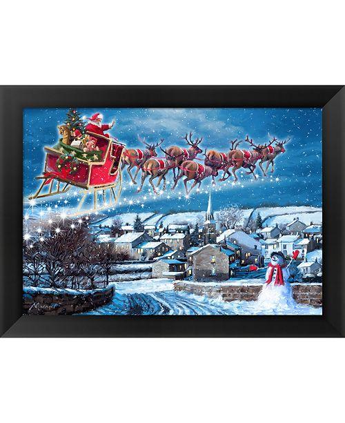 Metaverse Jingle Bells by The Macneil Studio Framed Art