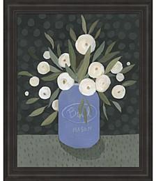 Mason Jar Bouquet II by Emma Scarvey Framed Art