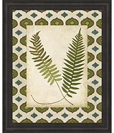 Moroccan Ferns III by Vision Studio Framed Art
