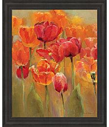 Tulips in the Midst I by Marilyn Hageman Framed Art