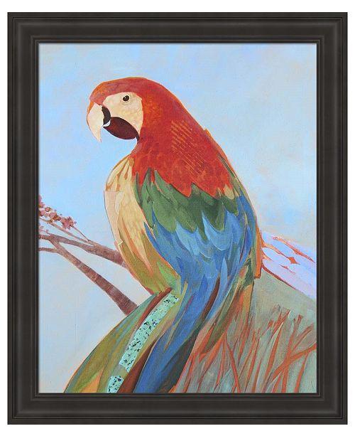 Metaverse Parrot Wonder II by Larry Forgard Framed Art