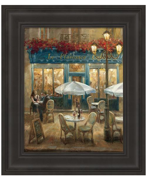 Metaverse Paris Cafe I by Danhui Nai Framed Art