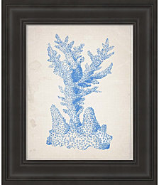 Blue Coral 1 by Natasha Wescoat Framed Art