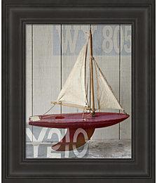 Sailboat II by Symposium Design Framed Art