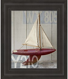 Sailboat II by Symposium Design Framed Art