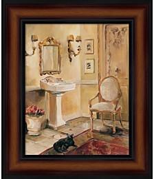 French Bath II by Marilyn Hageman Framed Art
