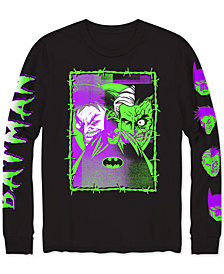 DC Comics Batman & Joker Distress Men's Graphic T-Shirt