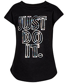 Nike Toddler Girls Graphic-Print Cotton T-Shirt
