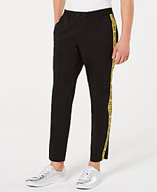 I.N.C. Men's Slim-Tapered Fit Stretch Taped Pants, Created for Macy's