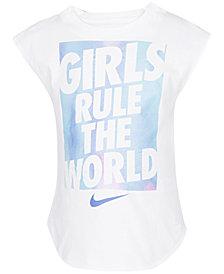Nike Toddler Girls Graphic-Print Cotton T-Shirt