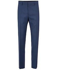 BOSS Men's Slim-Fit Virgin Wool Trousers