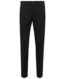 BOSS Men's Slim-Fit Twill Chino Pants