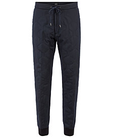 BOSS Men's Relaxed-Fit Quilted Flannel Chino Pants