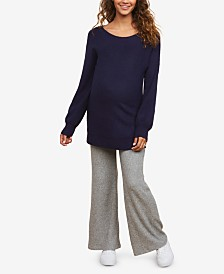 Motherhood Maternity Rib Knit Pants with Secret Fit Belly