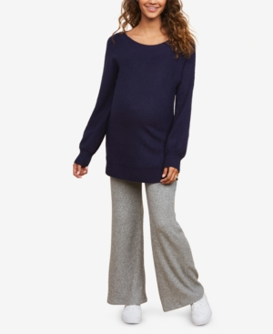 Motherhood Maternity Rib Knit Pants with Secret Fit Belly