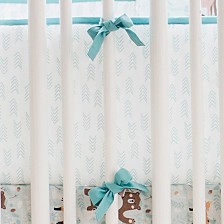 Forest Friends Crib Bumper