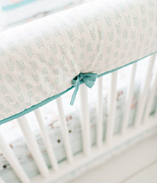Forest Friends Crib Rail Cover