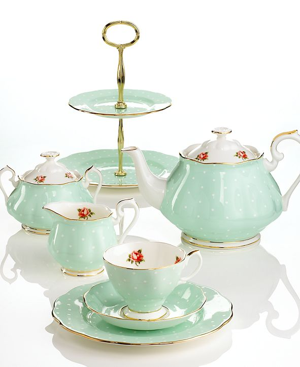 Royal Albert Old Country Roses Polka Rose Collection