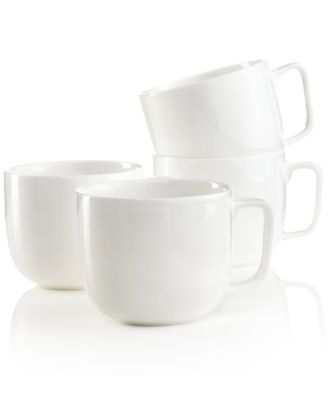 Dinnerware, Set of 4 Bone China Mugs