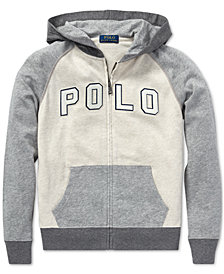 Polo Ralph Lauren Big Boys Cotton Spa Terry Hoodie