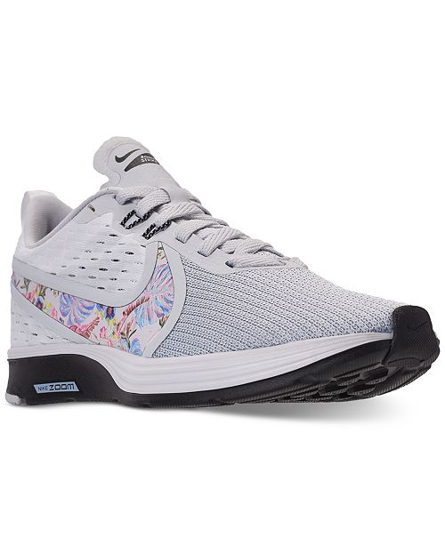 hot sale online ec882 0be79 ... Nike Women s Zoom Strike 2 Premium Running Sneakers from Finish ...