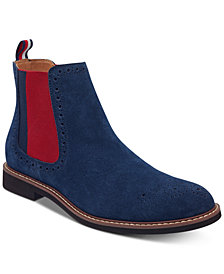 Tommy Hilfiger Men's Gainer Suede Chelsea Boots