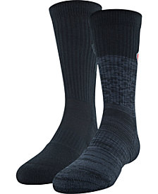 Under Armour Little & Big Boys 2-Pk. UA Phenom 2.0 Crew Socks