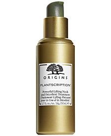 Origins Plantscription Powerful Lifting Neck & Decollete Treatment, 1.7 oz.