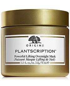 Plantscription Powerful Lifting Overnight Mask, 2.5oz