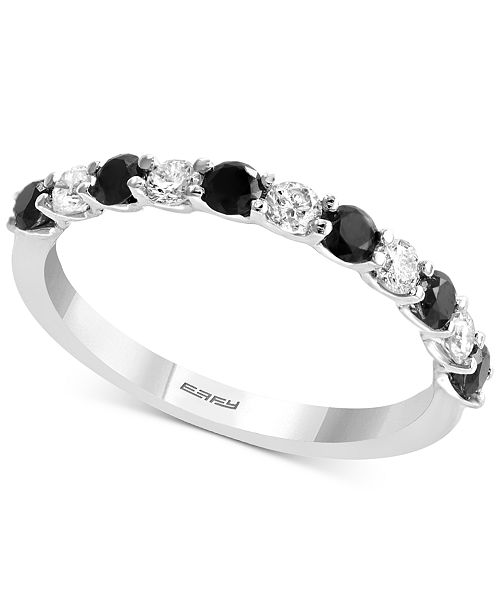 EFFY Collection EFFY® Diamond Band (5/8 ct. t.w.) in 14k White Gold