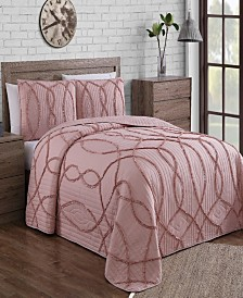 Sonora 3pc King Quilt Set