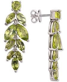 Amethyst Vine Drop Earrings (5-3/4 ct. t.w.) in Sterling Silver (Also Available In Blue Topaz, Garnet and Peridot)