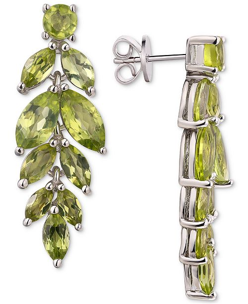 Dangle Drop Earrings 6 3 4 Ct T W