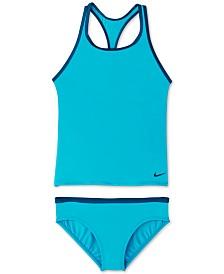 Nike Big Girls 2-Pc. Racerback Tankini
