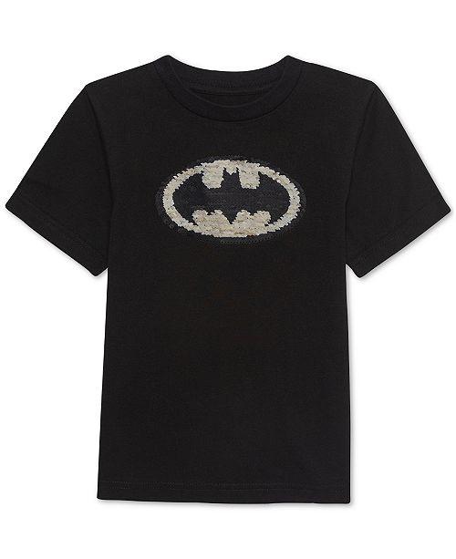 42856a3e4dad Jem Little Boys Batman Sequin Graphic T-Shirt & Reviews - Shirts ...