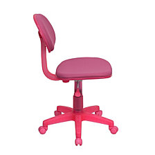 Pink Fabric Swivel Task Chair