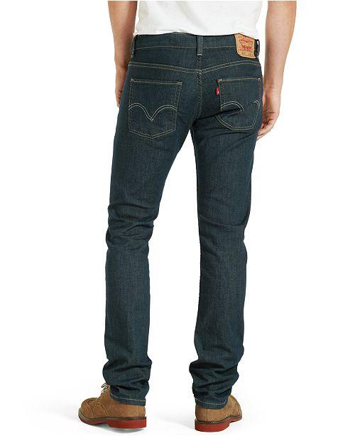 be49af2f4f1d0 Levi s 511™ Slim Fit Jeans - Jeans - Men - Macy s