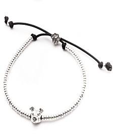 American Staffordshire Head Bracelet in Sterling Silver