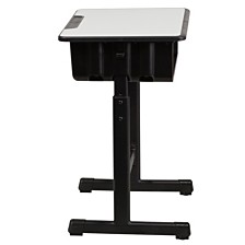 Fantastic Flash Furniture Adjustable Height Student Desk And Chair Cjindustries Chair Design For Home Cjindustriesco