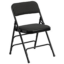 Hercules Series Curved Triple Braced Folding Chair