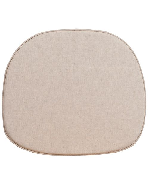 Flash Furniture Natural Thin Cushion