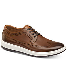 Johnston & Murphy Men's Elliston Wingtip Sneakers