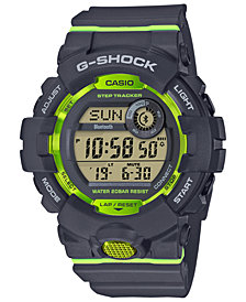G-Shock Men's Gray Resin Strap Watch 46.6mm