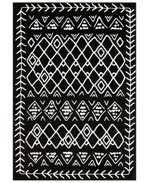 Surya Horizon HRZ-2313 Black 2' x 3' Area Rug