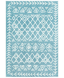 "Surya Horizon HRZ-2315 Denim 3'3"" x 5' Area Rug"