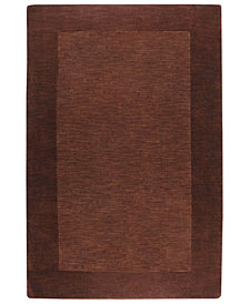 "Surya Mystique M-294 Dark Brown 3'3"" x 5'3"" Area Rug"